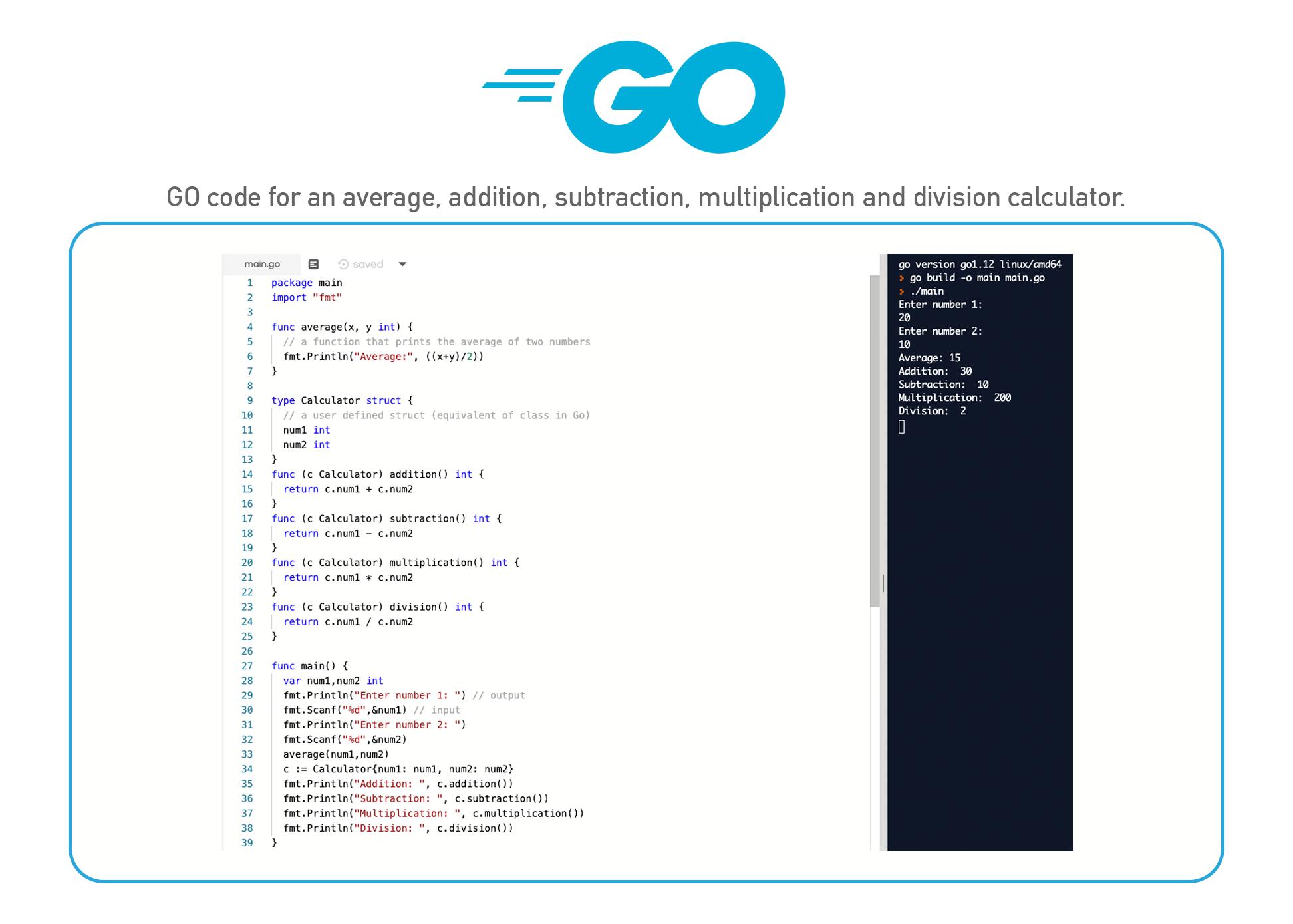 Go coding language