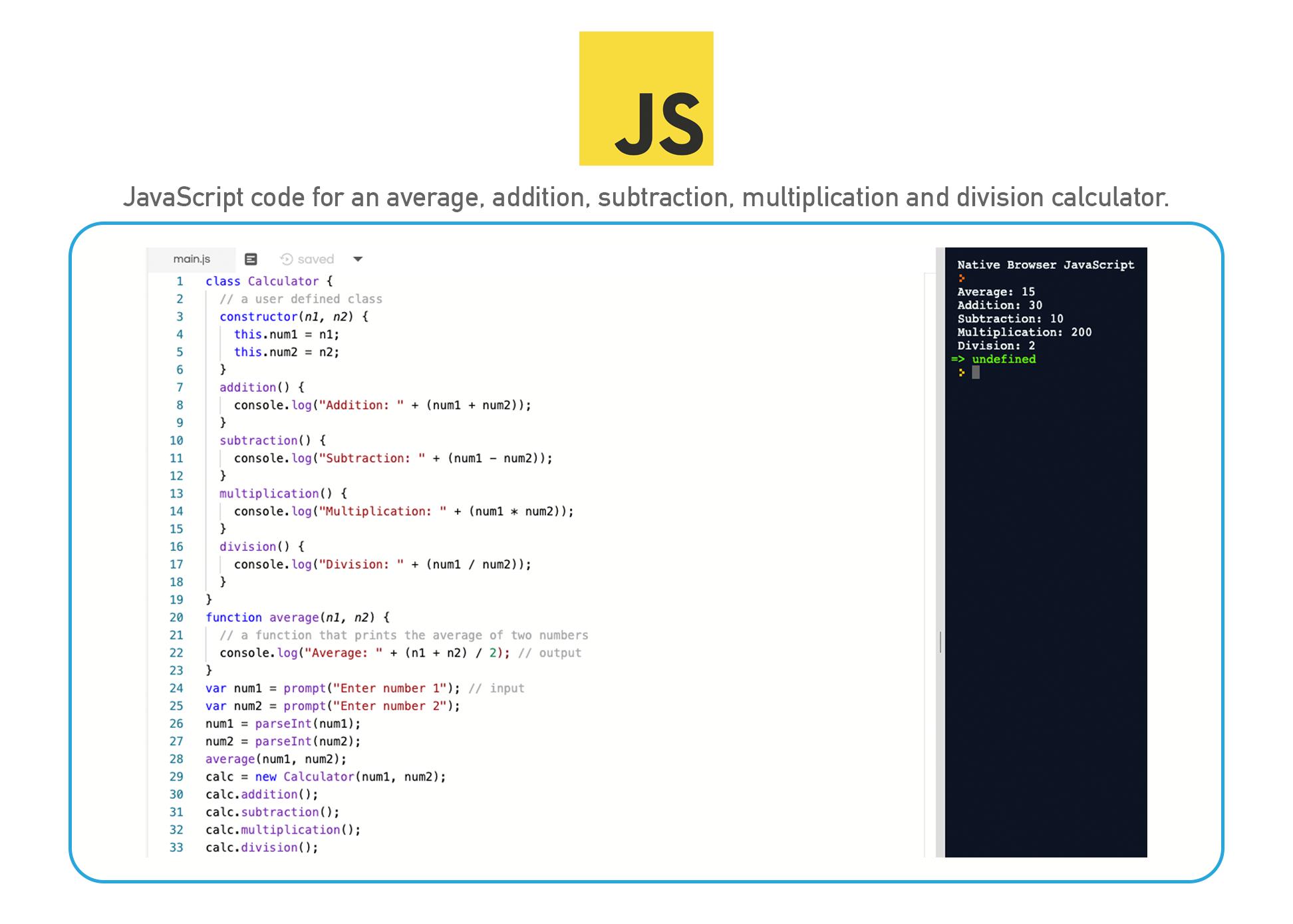 JavaScript coding language