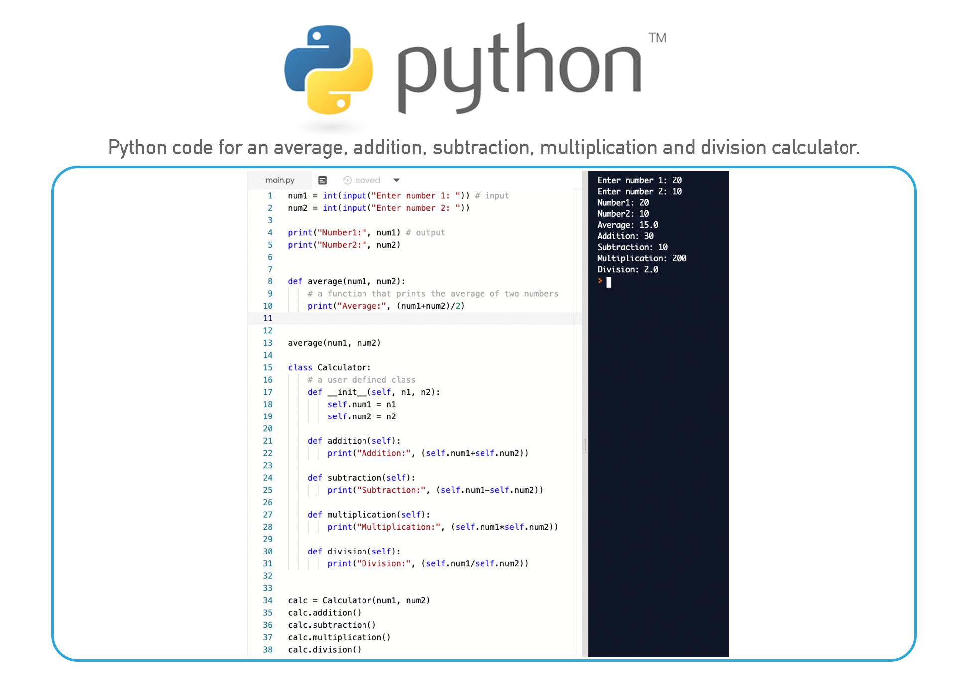 Python coding language